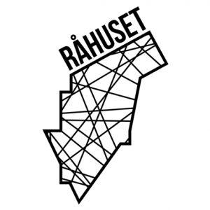 rahuset logo hvid